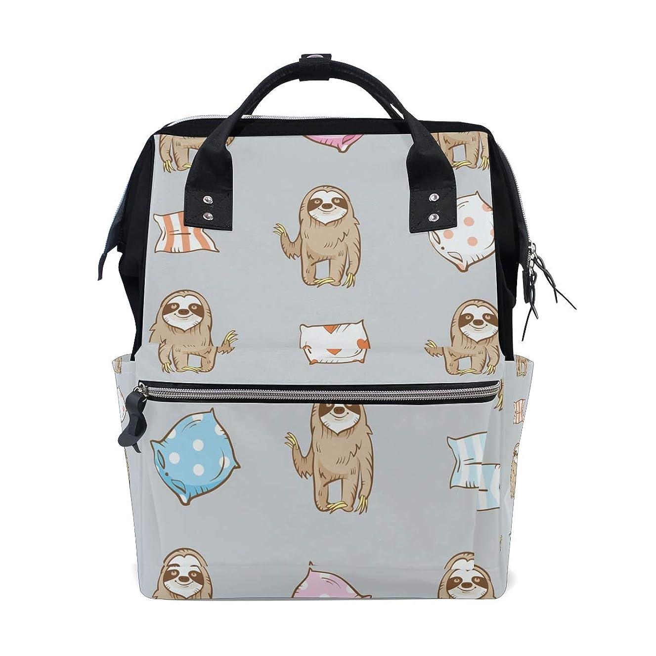Sloth Cats School Backpack Large Capacity Mummy Bags Laptop Handbag Casual Travel Rucksack Satchel For Women Men Adult Teen Children