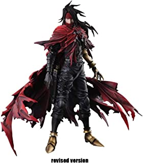 Luoyongyou Final Fantasy Dirge of Cerberus Vincent Valentine Play Arts Kai Action Figure - Vincent Action Figure - Equipped with Weapons and Replaceable Hands