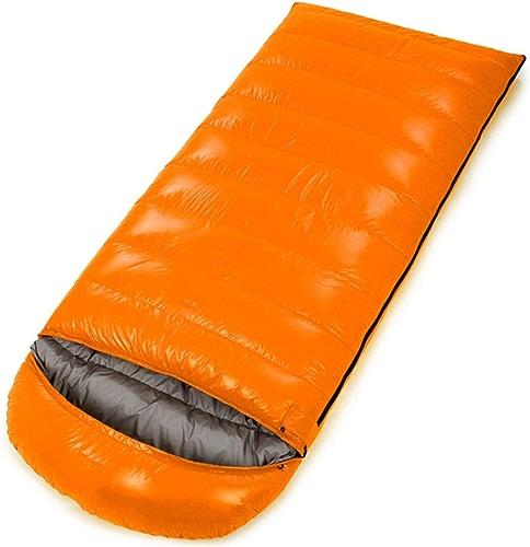 Sakuldes Portable léger enveloppe pour Voyager, randonnée, Camping, Confort pour Les Enfants (Couleur   Orange, Taille   1500g)