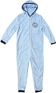 Supersoft Sleepsuit Size 3-12 Years New Boys Barcelona All in ONE Onesie Jumpsuit