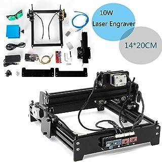 USB 10W DIY CNC Escritorio Laser Engraver Grabado Madera Bambú Cuero