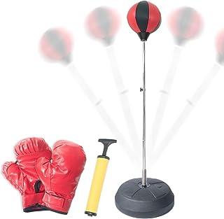 Melion ボクシング サンドバッグスタンド 自宅 組立簡単 ストレス解消 格闘技セット (大人用)