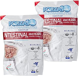 FORZA10(フォルツァディエチ)ドッグ アクティブライン インテスティナル アクティブ(胃腸ケア) 2kg ×2個セット