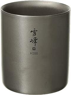 Snow Peak Unisex Seppou Stacking Mug H200 Titanium One Size
