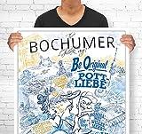 Lieferlokal Stadtposter Bochum in limitierter Auflage -