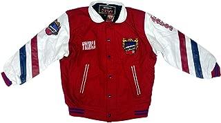 Irapuato Men's Jacket Color Red/White