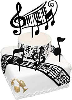 Best musical instrument cake toppers Reviews
