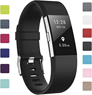 Soulen Bands Compatible with Charge 2, Classic & Special Edition Replacement Band Charge 2, Large Small, for Women Men