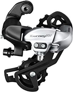 SHIMANO Tourney 7/8-Speed Mountain Bicycle Rear Derailleur - RD-TX800-L