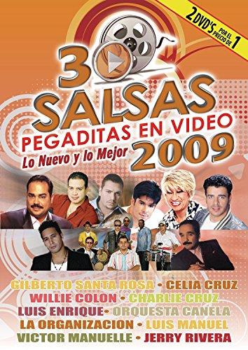 30 Salsas Pegaditas en Video: Lo Nuevo y lo Mejor 2009 [DVD] (2009) (japan import)