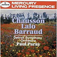 Chausson, Lalo, Barraud / Paray, Detroit Symphony Orchestra