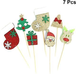 Giochi Dei Dolci Di Natale.Amazon It Decorazioni Per Dolci Di Natale Decorazioni Per