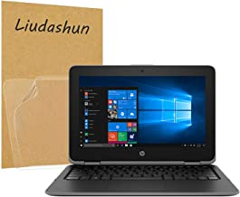 Liudashun Screen Protector Film Compatible with HP ProBook x360 11 G3 EE/HP ProBook x360 11 G4 EE Laptop High Clarity Anti Scratch [Pack of 2]