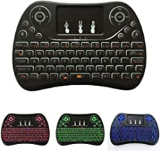 I8 Max 2.4GHz Mini Wireless Keyboard with Touchpad Rechargeable Fly Air Mouse Smart Game 3-Color Backlit Durable