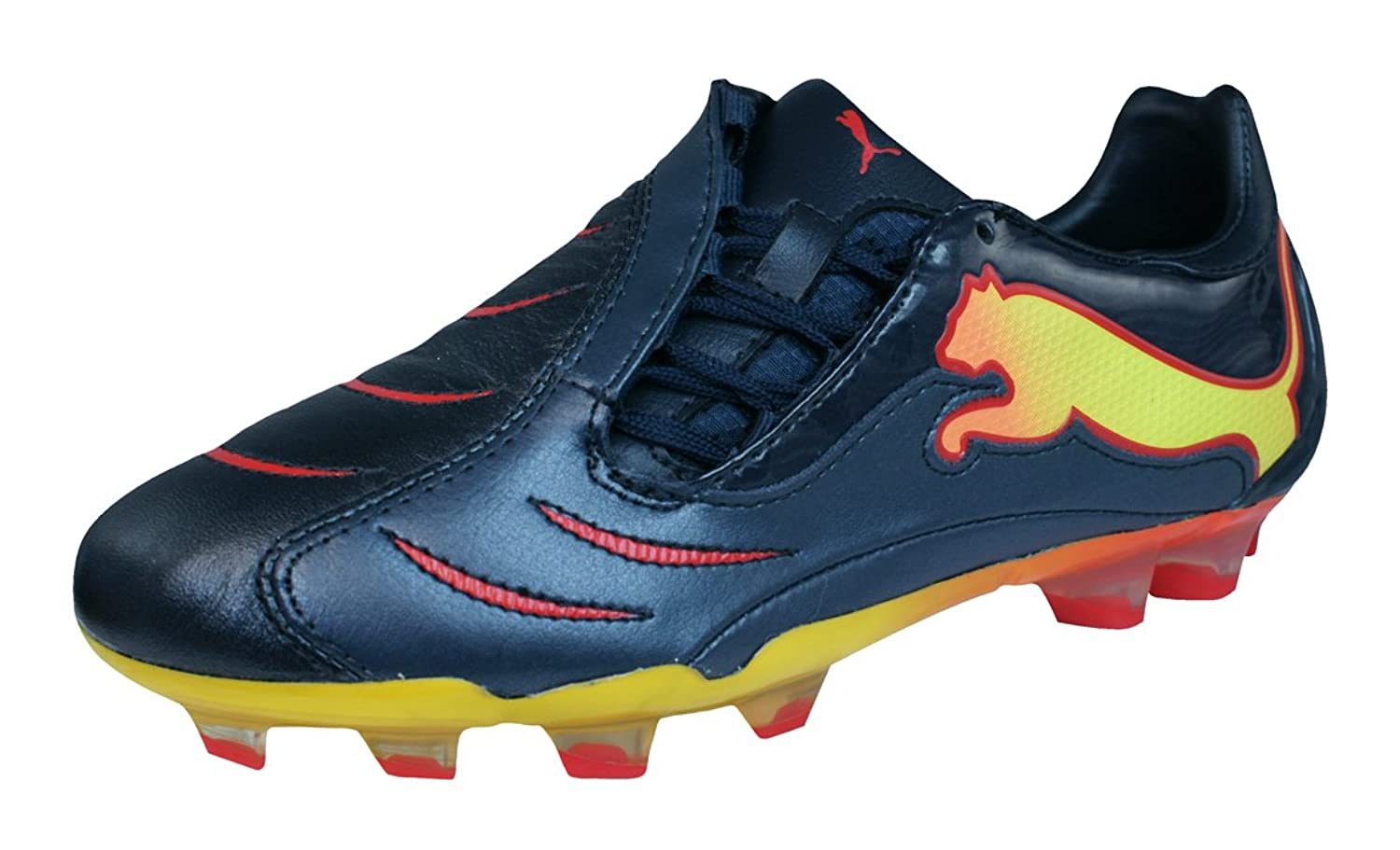 [プーマ] PowerCat 2.10 FG Tricks Boys Leather Soccer Boots/Cleats [並行輸入品]