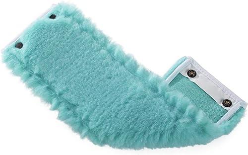 Leifheit Housse lave-sol Clean Twist M static plus, housse de rechange en microfibres polyester pour tous les types d...
