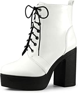 Combat / White / Ankle \u0026 Bootie / Boots