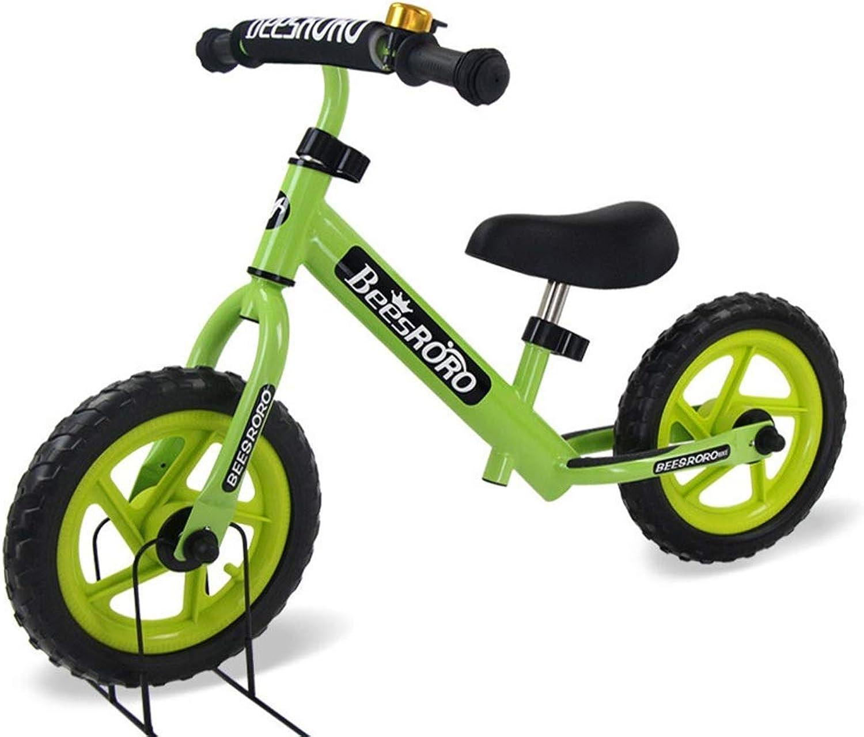promociones de equipo Bicicleta for Niños, Bicicleta Liviana, sin pedaleo pedaleo pedaleo Bicicleta for Caminar con Marco de Acero al Cochebono, Manillar y Asiento Ajustables, Bicicleta de Empuje del Planeador  estar en gran demanda