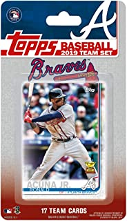 5d31e9cb87f Atlanta Braves 2019 Topps Baseball Factory Sealed Special Edition 17 Card  Team Set with Ronald Acuna