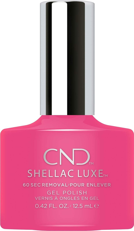 欠点三好ましいCND Shellac Luxe - Pink Bikini - 12.5 ml / 0.42 oz