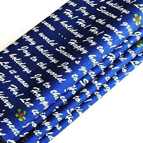 Handmade Holiday Wishes Napkins (Set of 4-100% Cotton) ME2Designs Christmas Table Decor