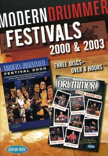 Modern Drummer Festival 2000 & 2003 [3 DVDs]