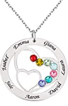 Best 7 name necklace Reviews