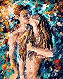 DIY Oil Painting for Adults Kids Paint By Number Kit Digital Oil Painting Sex Couple Hot Love 16X20 Inches