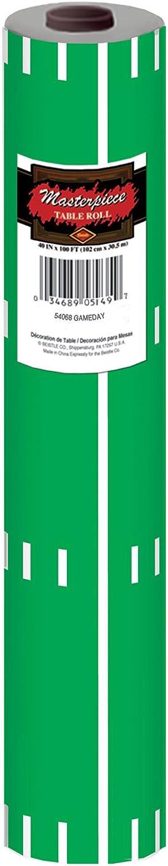Spiel Tag Fußball Tisch, Rolle 40 by 100-Inch grün weiß B00S0JGNZO Schenken Sie Ihrem Kind eine glückliche Kindheit   | Optimaler Preis