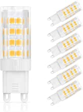 G9 LED Bulbs Warm White, 3.5W G9 LED Light Bulb, Equivalent to 35W Halogen Bulbs, 330LM, 2700K, AC 220-240V, Non-Dimmable,...