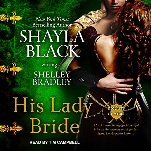 His Lady Bride audiobook cover art