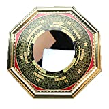 FengShuiGe 4.6 Inch Chinese Feng Shui Bagua Mirror Concave for Inviting Money and Treasure Wealth Luckly