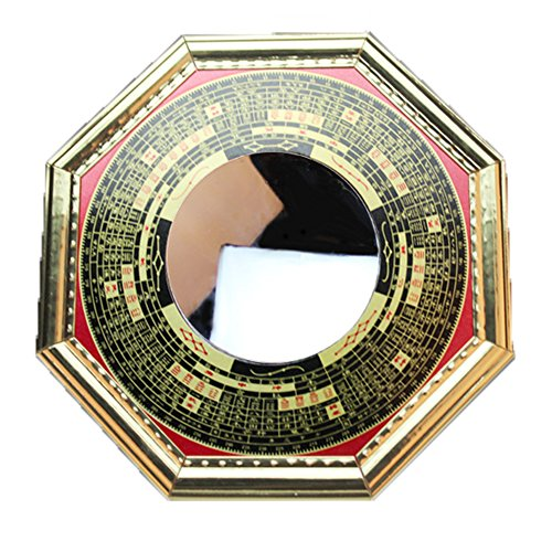 FengShuiGe Chinese Feng Shui Bagua Mirror Concave for...