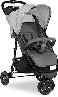 Hauck Citi Neo, 3-hjulig barnvagn för upp till 25kg med liggläge från födseln, hopfällning med en hand, kompakt hopfällt ...