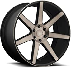Dub S127 Future 24x10 6x135 +30mm Black/Machined with Dark Tint Wheel Rim