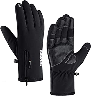 UPGRAGED -20℉ Ski & Snow Gloves Waterproof Touch Screen Thermal Thicken Liner Winter Cold Weather Gloves for Men and Women
