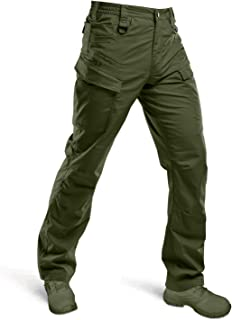 HARD LAND Men's Waterproof Tactical Pants Ripstop Lightweight Work Cargo Pants BDU Military Trousers