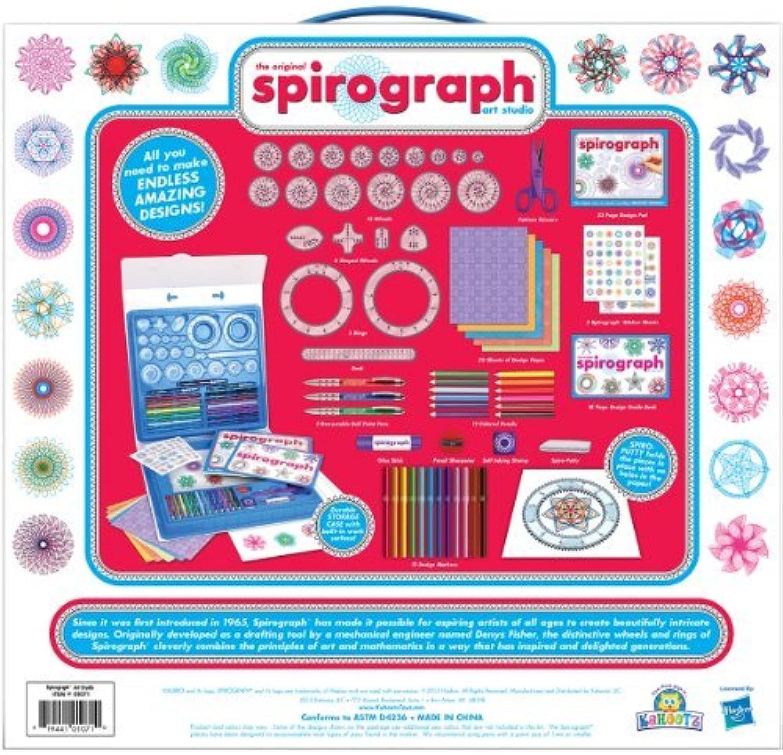 ¡No dudes! ¡Compra ahora! Spirograph Spirograph Spirograph Art Studio by Kahootz  descuento online