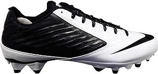 Nike Mens Vapor Speed Low TD Football Cleats White/Black