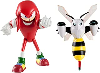 Sonic The Hedgehog T22502A4KNUCKLESBEEBOT - Figuras articuladas de Sonic Boom Knuckles and Beebot (Paquete de 2)