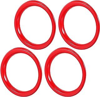 FAVOMOTO Capa vermelha para saída de ar condicionado para console central de carro, saída de ar condicionado, acabamento d...
