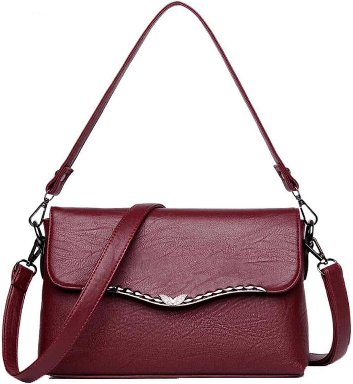 WU ZHI Mittelalter Damen Mutter Tasche Neue Produkt Schulter Messenger Bag PU Weichen Oberfläche Handtasche Handtasche B074TDZCHQ  Lass unsere Waren in die Welt gehen