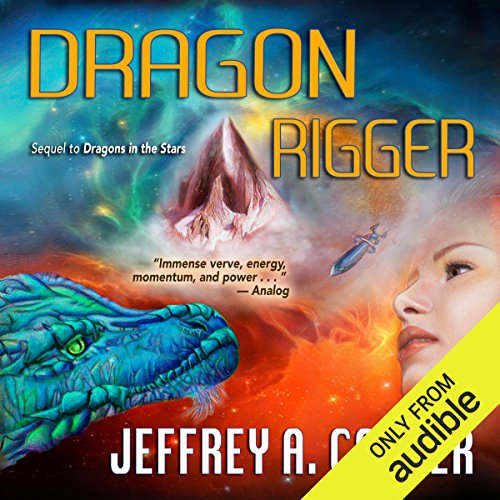 Dragon Rigger audiobook cover art