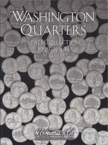 H.E. Harris Harris Coin Folder – State Series Quarters Folders Vol I 1999-2003 #8HRS2580