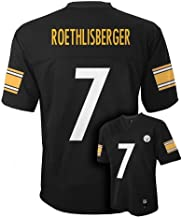 OuterStuff Ben Roethlisberger Pittsburgh Steelers Youth Black Jersey Small 8