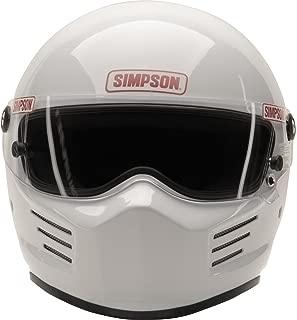 Simpson Bandit 6200032 Helmet, Black, Large SA2015