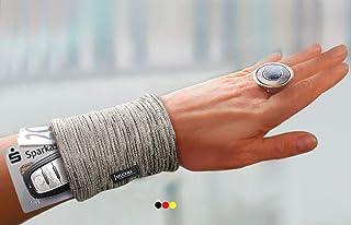 Armband Safe hellgrau unauffällig Geldversteck Handgelenk Geldbörse Portemonnaie Brieftasche Geldbeutel Body Safe Kuraufenthalt Geldgürtel Krankenhaus Geldtresor Damen Herren