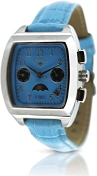 Swiss Tradition Womens Automatic Multifunction Moonphase Watch