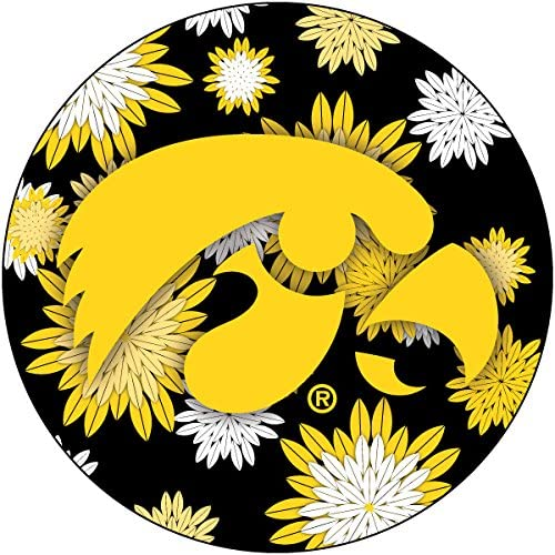 Popular brand Spring new work one after another R and Imports Iowas Hawkeyes Inch 4 Magnet Round Floral