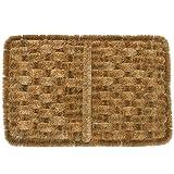 """Rubber-Cal """"Shiraz Outdoor Scraper Door Mat, 16 by 24-Inch, Tan, Model: 10-100-511"""
